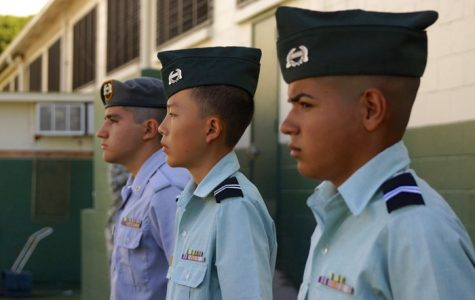 JROTC cadets participate in first drill meet of the year