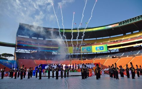 Platten, MHS students start a 'Wildfire' at Pro Bowl for a legenday performance