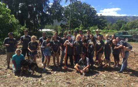 Trojans Give Back: MHS Choral Program Volunteers at Camp Mokuleia