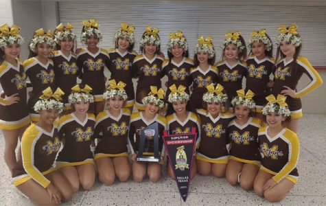Varsity Cheerleading Competition Team Place Fifth at NCA Competition