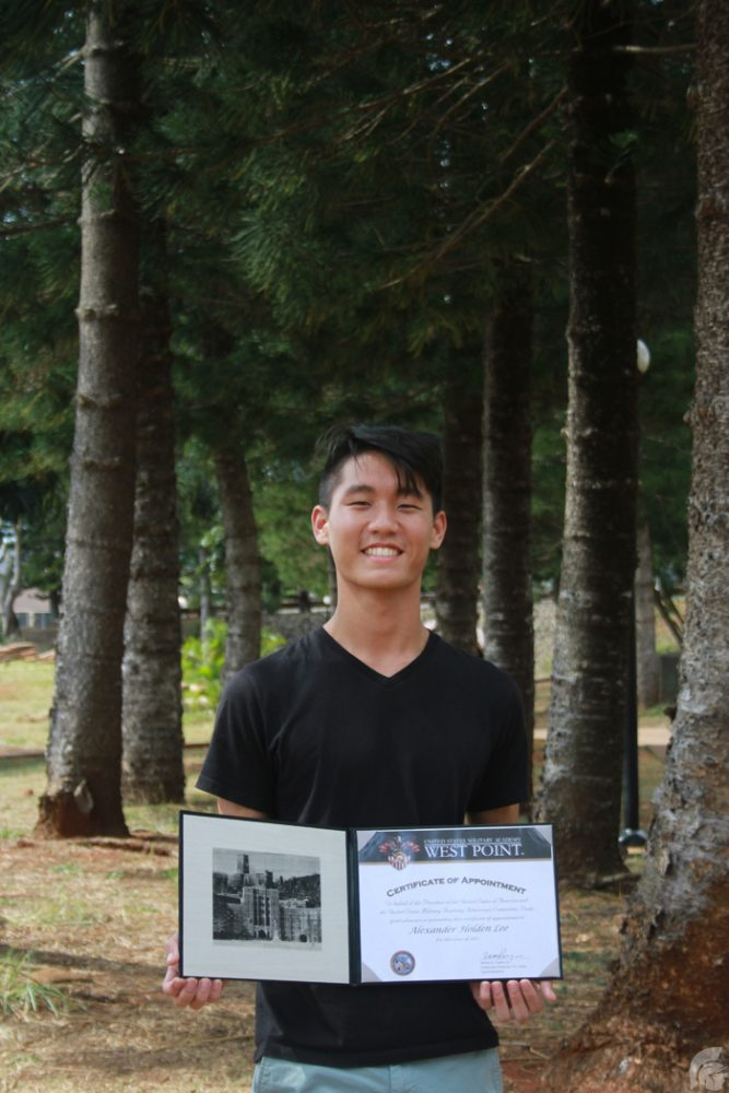 Lee Accepted To West Point Academy