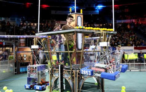 Building to Finish: MHS First Robotics Team Make Quarterfinals at State Competition