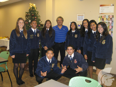 (Photo courtesy of FFA adviser Jeffrey Yamaguchi) MHS has traditionally done well in FFA conferences, a streak they maintained at Districts and plan to continue at States.