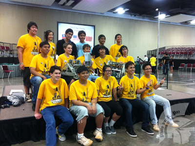 VEX Robotics defends their title, takes first at Pan Pacific second year in a row