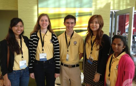 (Photo courtesy of Science Fair Coordinator Nel Venzon) Although Mocz found herself with a myriad of competitors, she also found herself in a familiar atmosphere, with colleagues she has known from previous competitions not limited to the symposium.
