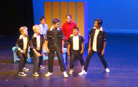 Students attend Rydell High in DITR junior production of 'Grease'