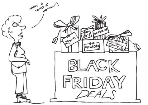 Beware and shop safe; the physical and mental dangers of Black Friday