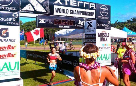 Schiller competes in XTerra World Triathlon