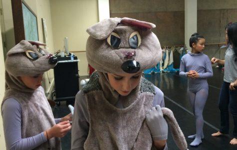 Graddy gives an 'en pointe' ballet performance in LCC 'Nutcracker'