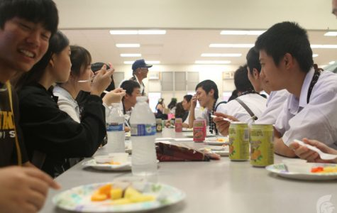 Schools reunite, Miyazaki Kaiyo High School returns for annual visit