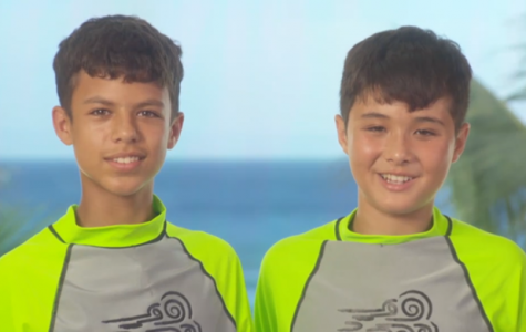 Going on a run through paradise: Burcham, Thomsen star in Nickelodeon's new 'Paradise Run' game show