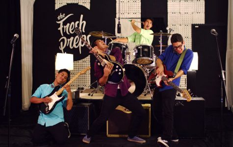 2010 graduate Lyons establishes Indie rock band 'The Fresh Preps'