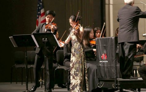 An Evening with Bach; Fujinami duets 'Concerto  for Two Violins' with Midori