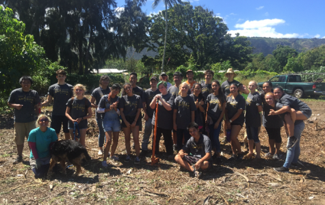 Trojans Give Back: MHS Choral Program Volunteers at Camp Mokuleia