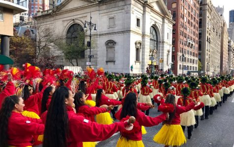 MHS Students Perform with State Marching Band in Macy's Thanksgiving Parade