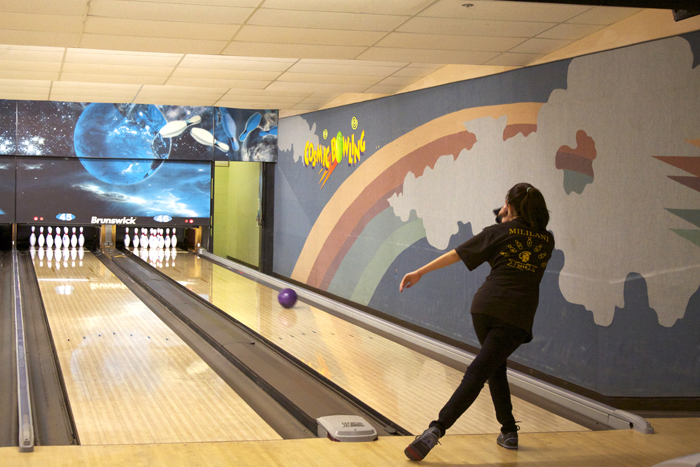 (Timothy Won | Trojan Times) Erin Ohta (12) plans on attending college in either New York or New Jersey, intending to continue her love and passion for bowling while there.
