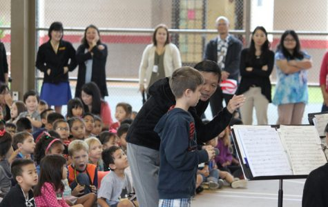 Teaching Our Next Generation: MHS Band and Orchestra Visits Mililani Complex Schools