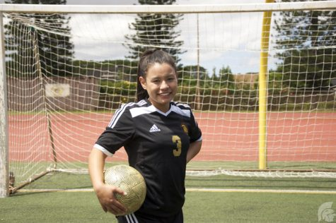 Anika Ramos | Trojan Times Rodriguez (12) has had a large family support system while playing soccer.