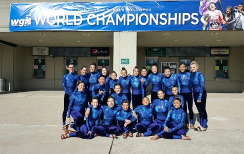 Winter Guard Places Fourth In Ohio WGI Competition